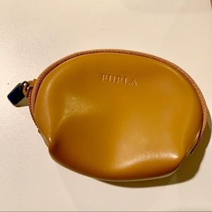 Furla leather pouch
